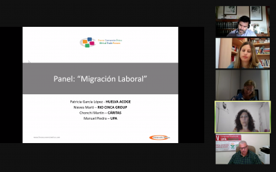 """Great success in the Online Event June 16th: """"The Importance of Due Diligence in Social Auditing and Labour Migration"""""""